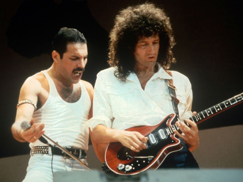 Queen Freddie Mercury Brian May