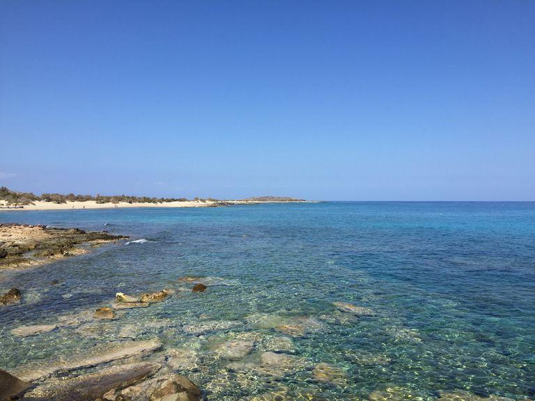 La Crète, une des destinations en Europe parmi les plus ensoleillées du mois de mai.
