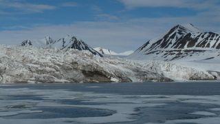 Deglaciación en las Svalbard