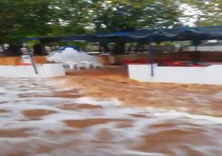 Storm Barbara: Impressive impacts on video