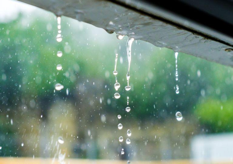 Depressão Hortense; precipitação