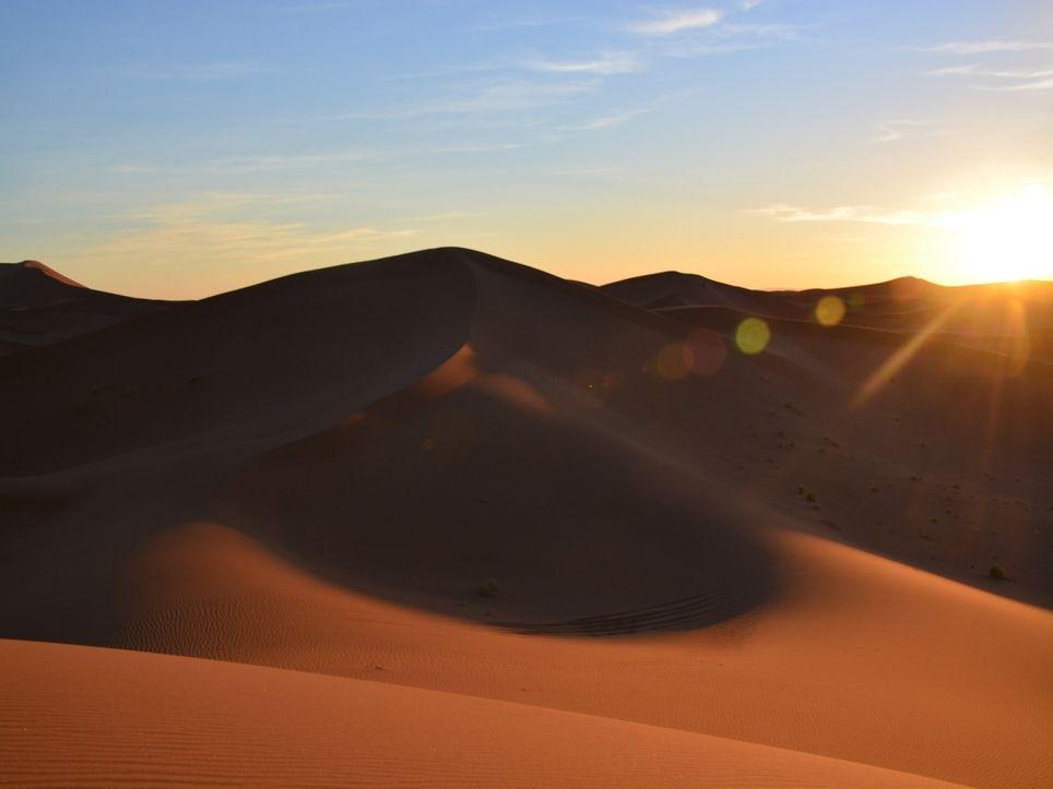 Neue Sahara-Hitze