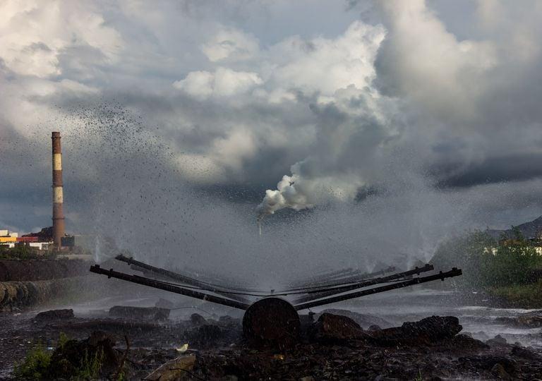 Derramamento de combustível Sibéria, Rússia