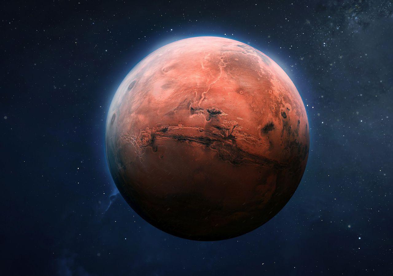 Des organismes terrestres capables de survivre sur Mars ! - Tameteo.com