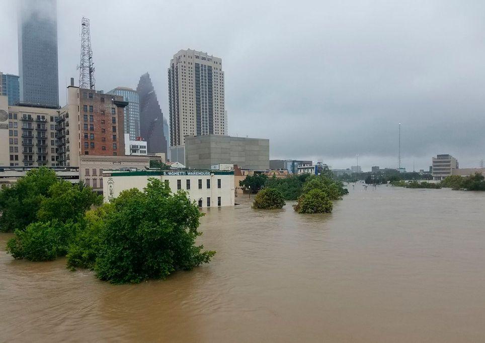 Überschwemmungen Hurrikan Harvey 2017