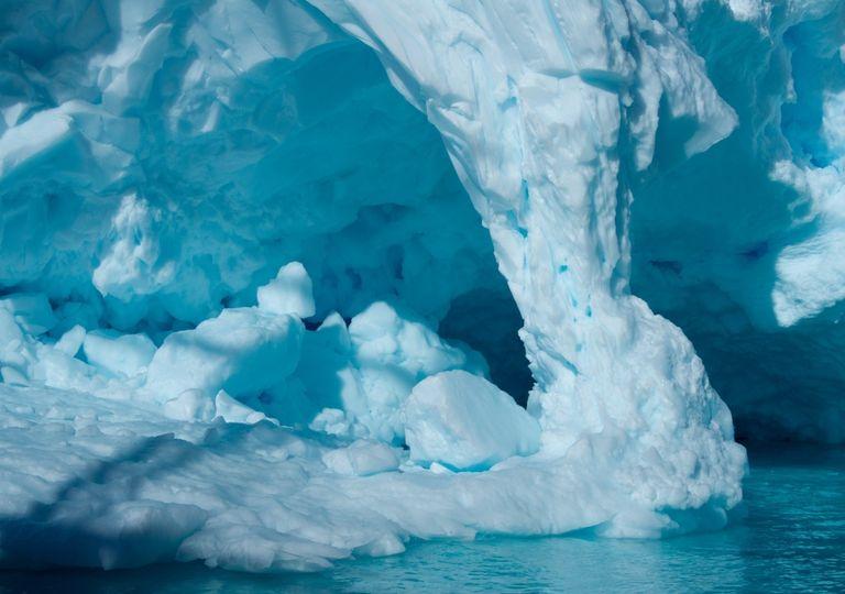 Hielo antártico