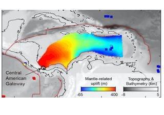 """Une puissante """"rivière de pierres"""" découverte sous la mer des Caraïbes"""
