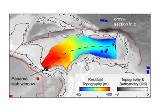 """Descubren un poderoso """"río de piedras"""" debajo del Mar Caribe"""