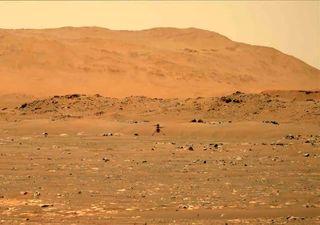 Mars : l'hélicoptère Ingenuity effectue avec succès son premier vol !