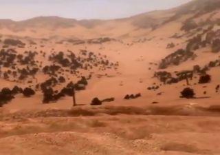 La polvere del Sahara sull'Europa, immagini inedite da Alpi e Pirenei!