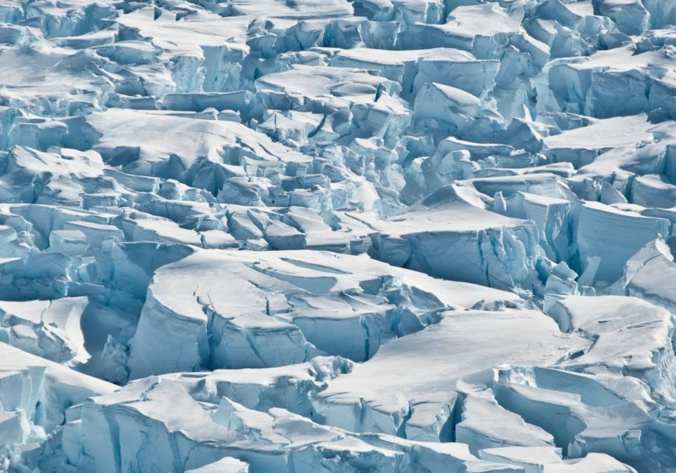 Se registró en la Antártida una temperatura de - 98 grados