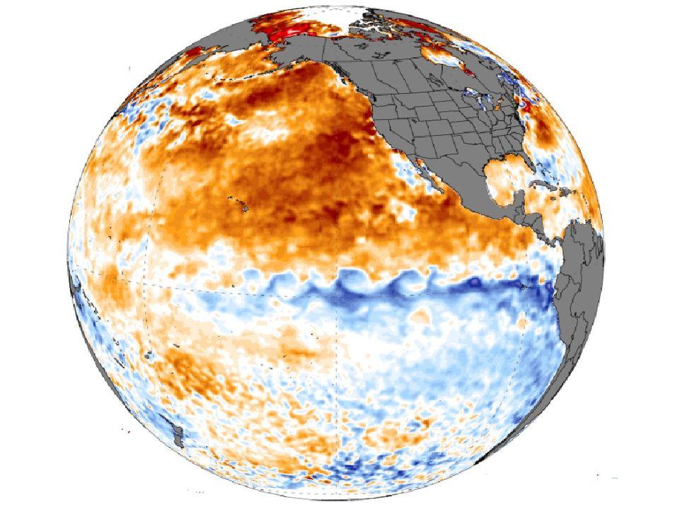 Aguas más frías en el Pacífico ecuatorial