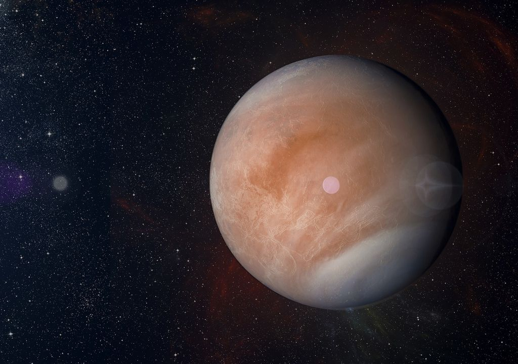 Venus, life.