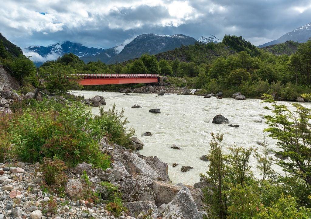 Río en la patagonia chilena