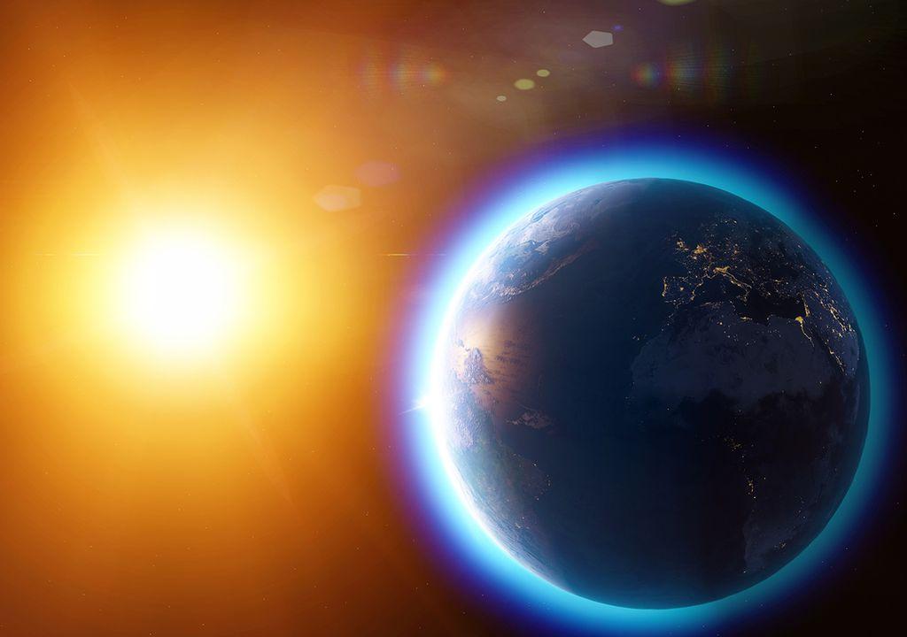 Tierra y el Sol