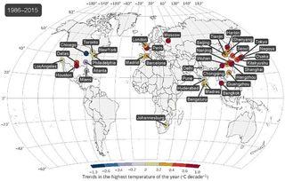 Días más calurosos: Repunte del calor extremo