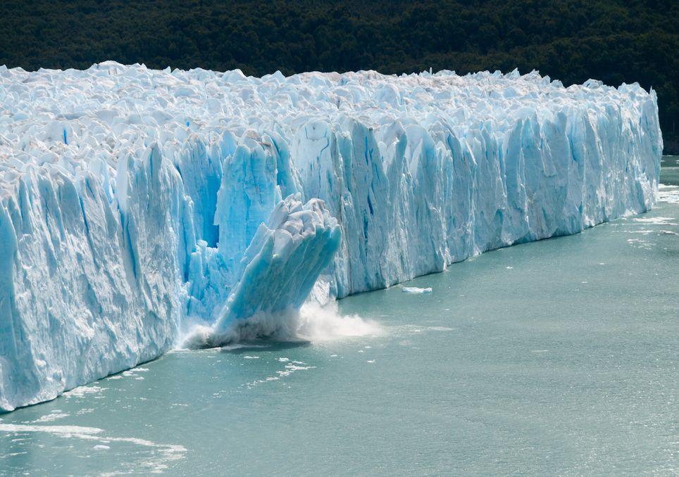 Iceberg, Glaciar