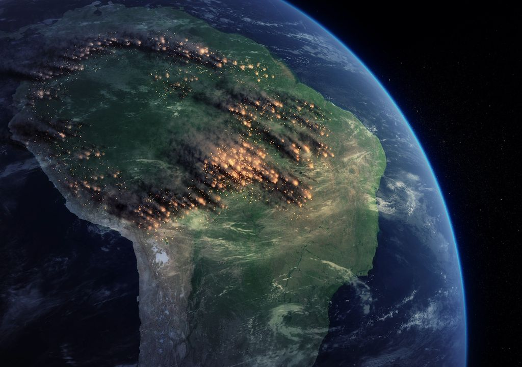 Incendios selva Amazónica