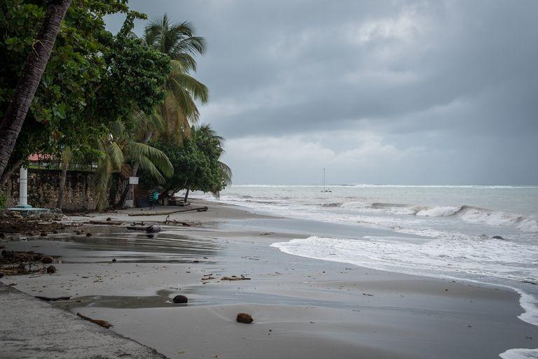 Après avoir touché la Martinique au stade de tempête tropicale, l'ouragan Dorian s'est rapidement renforcé.