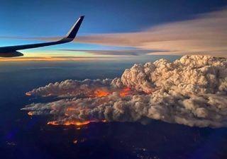 Dos grandes incendios podrían fusionarse en Colorado
