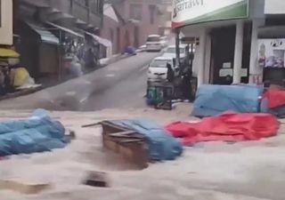 Temporal en Sucre, Bolivia, inunda la ciudad en poco más de una hora