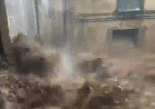 Drammatica alluvione lampo nel nuorese: video