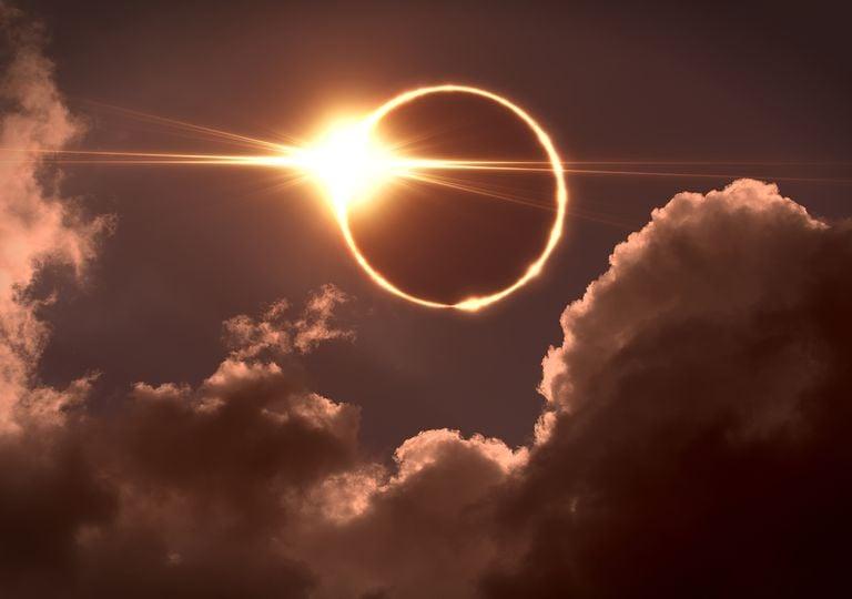 Raro eclipse solar podrá observarse en algunas partes del mundo esta semana