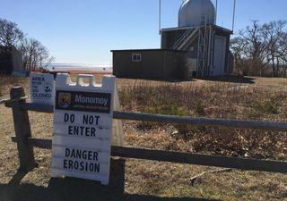 Abandonan un observatorio meteorológico en EE.UU. ¡podría caer al mar!