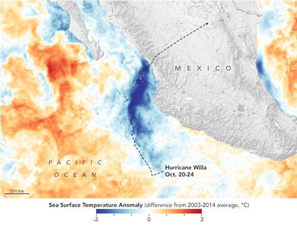 Efectos De Los Ciclones Tropicales En Las Profundidades Del Océano