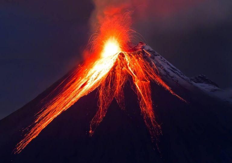 Vulcanismo, clima na Terra