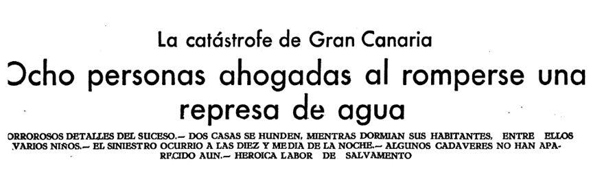 Efemérides Meteorológicas En Canarias Del Siglo Xx Y Xxi: Parte I