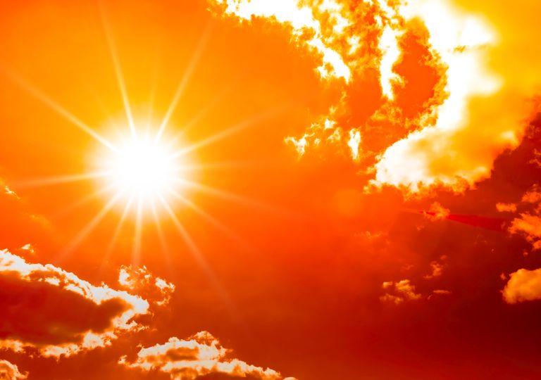 Sonnenschein und Hitze?