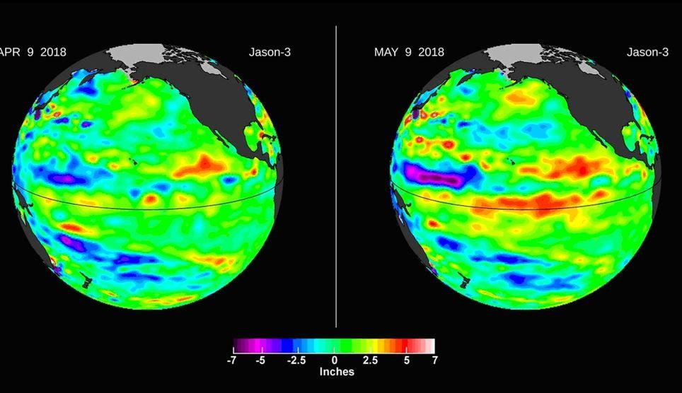 El Agua Caliente Se Cuela En El Pacífico Central: La Onda De Kelvin Y El Niño