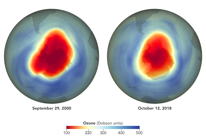 El Agujero De Ozono Es Grande, Pero Se Ve Atenuado Por Las Reducciones De Cfc