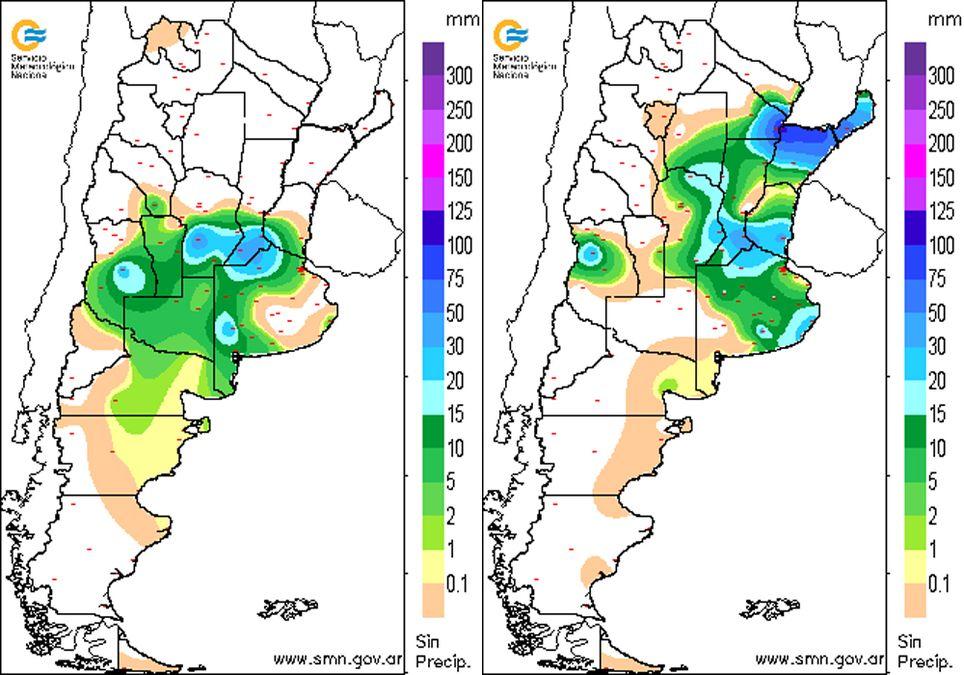 Lluvia Argentina Octubre Noviembre