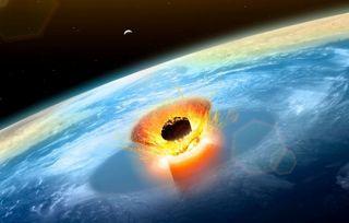 El asteroide de Chicxulub y el calentamiento abrupto de la Tierra