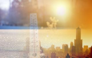 El calentamiento global y el frío de estos días ¿Son compatibles?