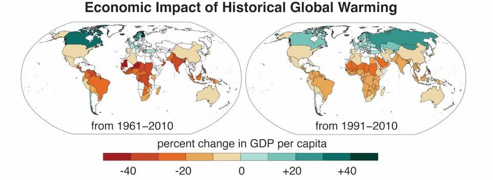 Cambio climático calentamiento global