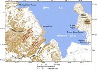 El cambio climático en el suelo antártico