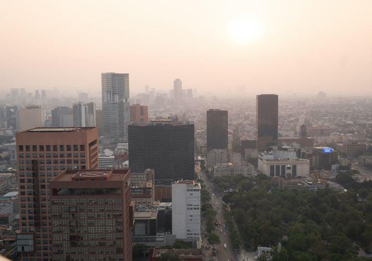 Ciudad de Mexico; humo; smog
