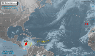 """El Caribe tropical se ha vuelto """"loco"""" ¿Kappa a la vista?"""