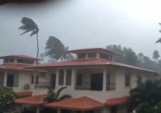 La devastación del ciclón Tauktae en India: vídeos impactantes