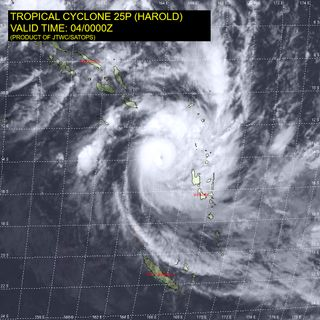 El ciclón tropical Harold deja 24 desaparecidos en las Islas Salomón