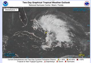 El CNH/NHC ha emitido un avance especial de posible formación de una tormenta tropical