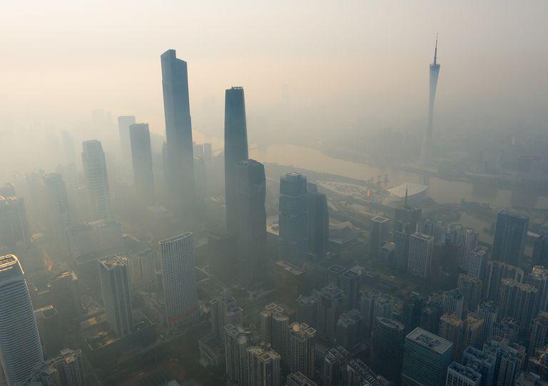 CO2, Contaminación ambiental