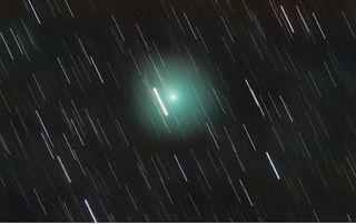 El cometa 46P/Wirtanen desde Madrid