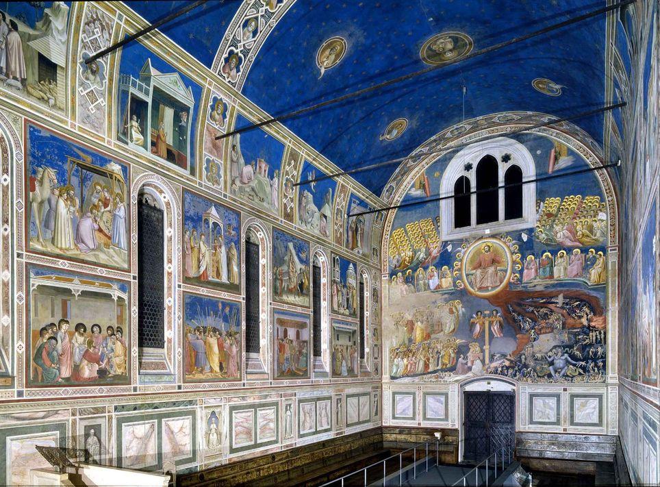 Capilla pintada por Giotto