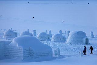 Die Arktis schmilzt: Der Lebensraum der Eskimos ist in Gefahr