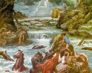 El Diluvio Universal En La Mitología Griega