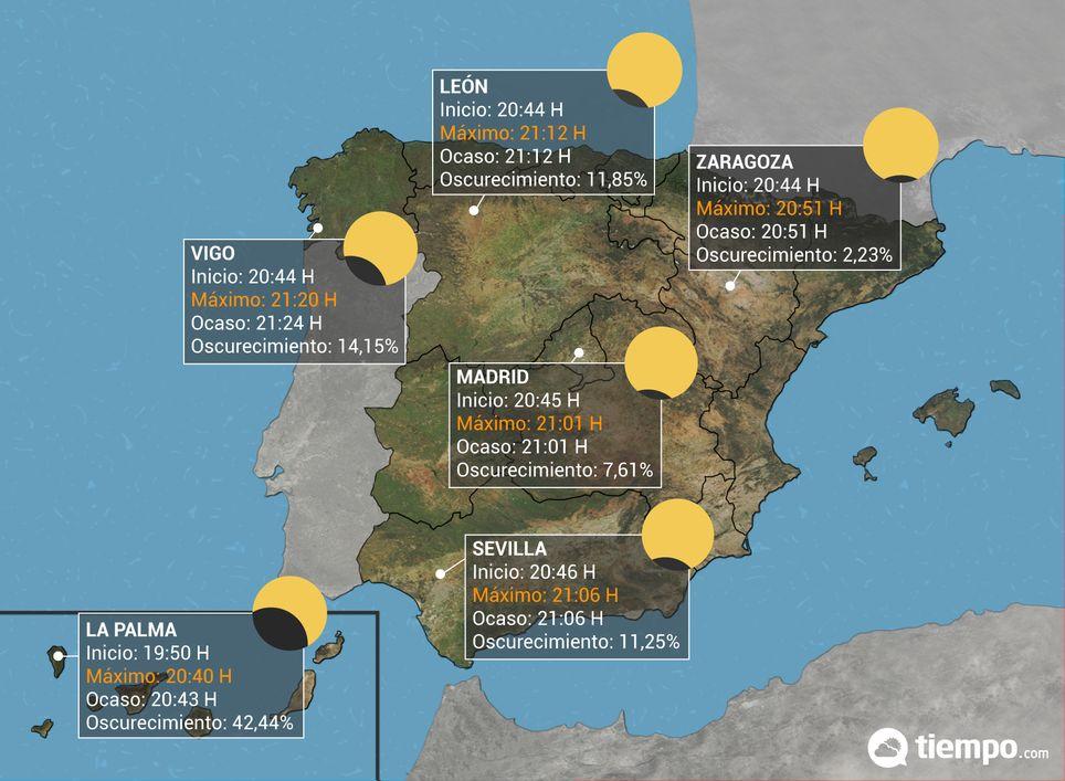 Eclipse solar España
